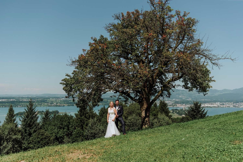 Hochzeit am Zürichsee