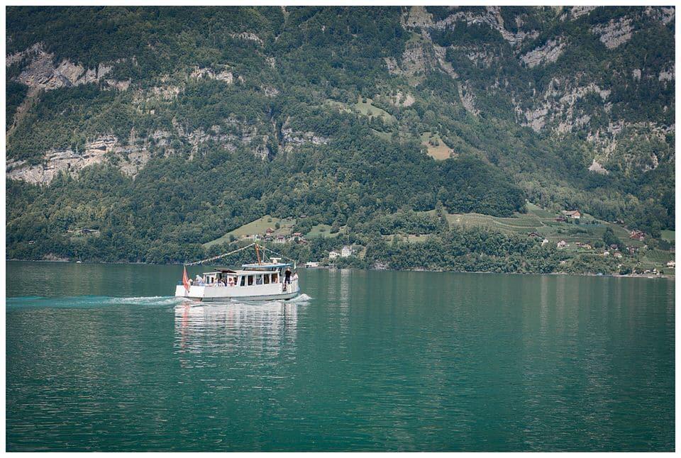 Mit dem Boot zur Trauung