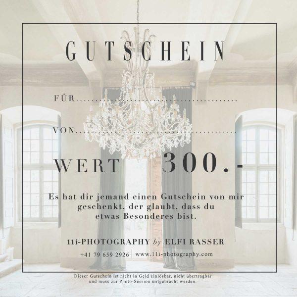 Gutschein CHF 300