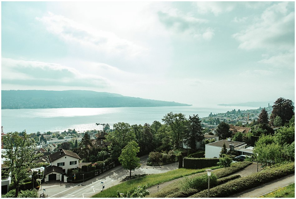 Hochzeit mit Blick auf den Zürichsee