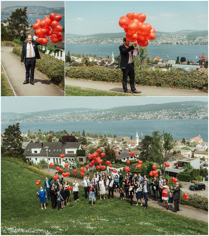 Hochzeitsfest-Zürich