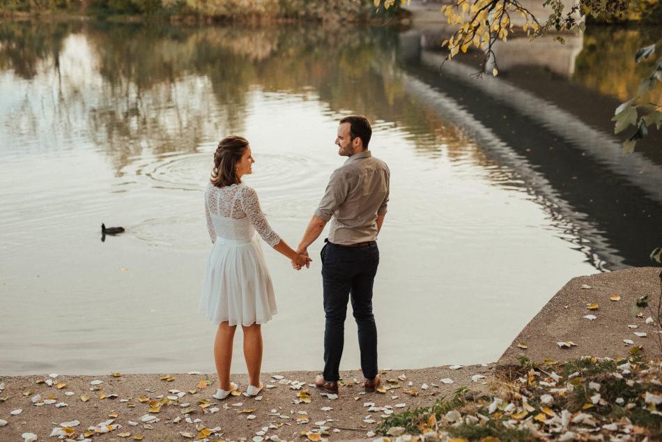 Fotoshooting Paar outdoor