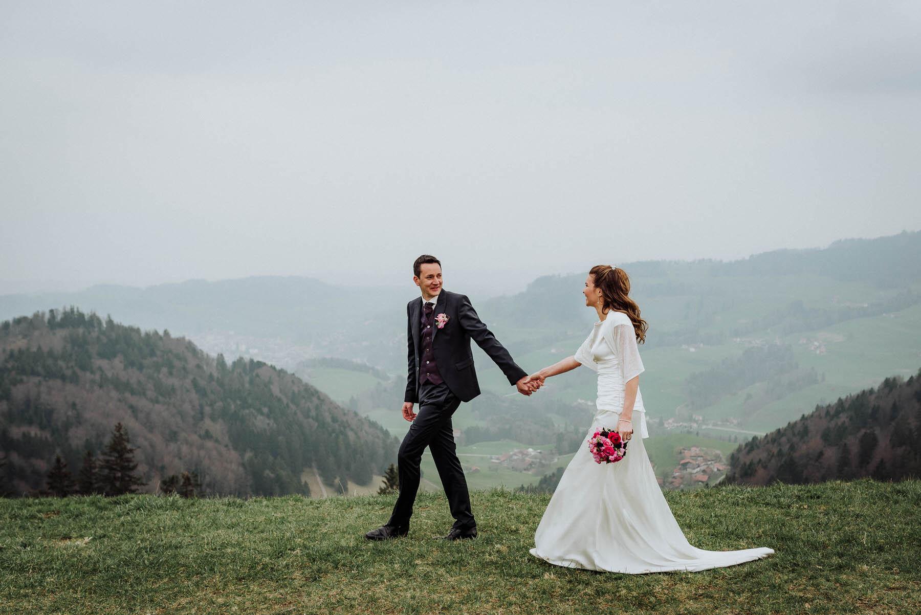Liebevolle Hochzeitsbilder