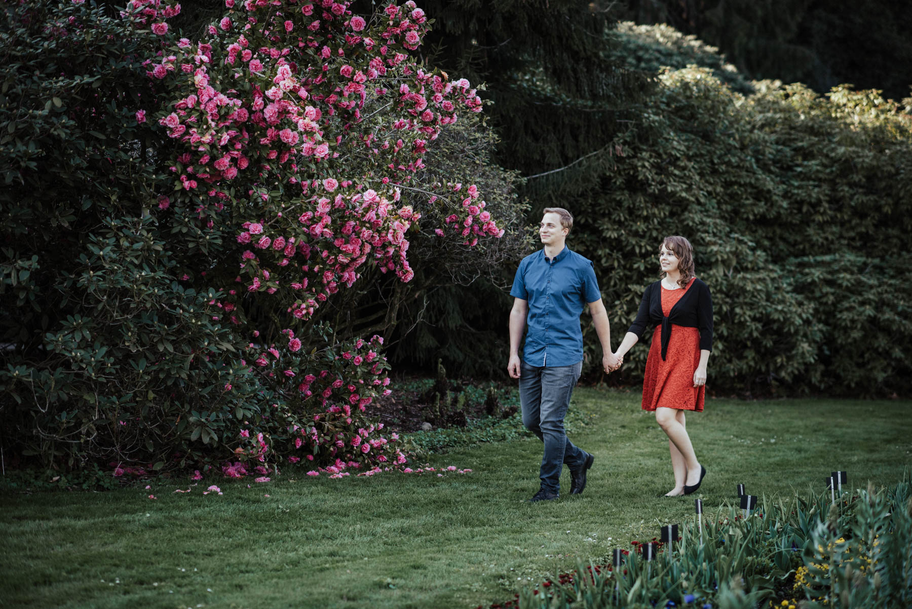 Verlobung auf der Insel Mainau