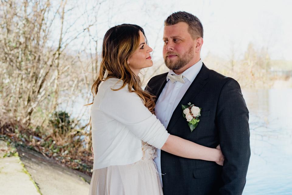Brautpaar Hochzeitsfotograf Zürich