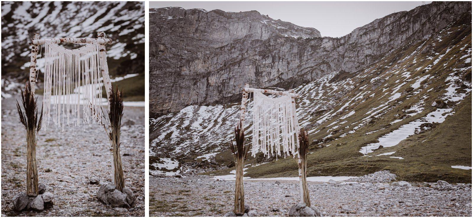 BOHO Berghochzeit Schweiz
