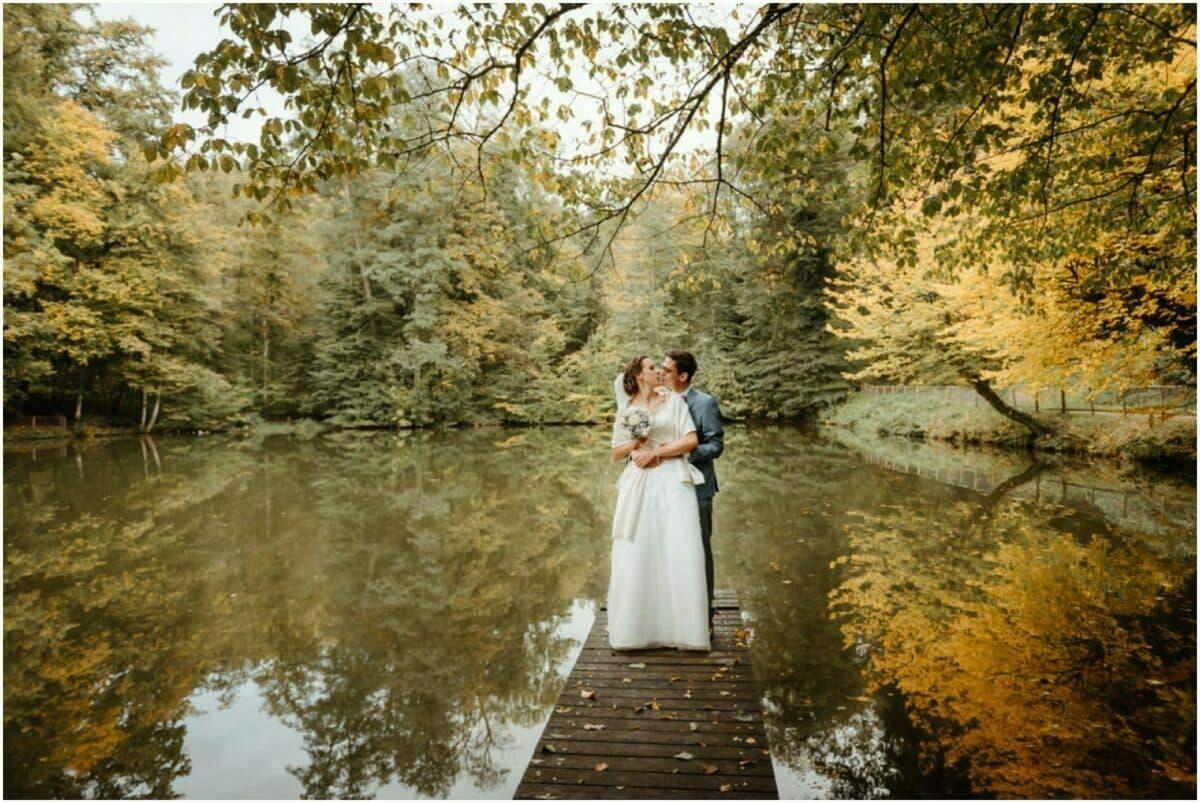 Herbsthochzeit Fünfweiher Hochzeit im Herbst